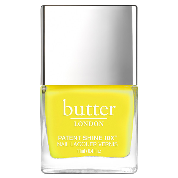 Yellow Submarine Patent Shine 10X Nail Lacquer