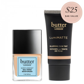 Skin Illusion Tinted Moisturizer and Nail Treatment Bundle