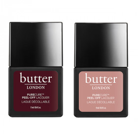 Cheeky and Jammy PURECURE™ Nail Lacquer Duo