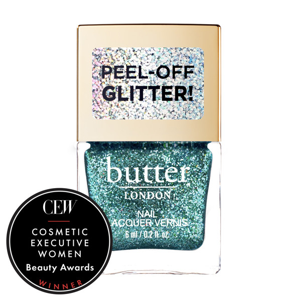 Aquatic Glazen™ Peel-Off Glitter Mini Nail Lacquer