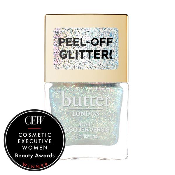 Aura Glazen™ Peel-Off Glitter Mini Nail Lacquer