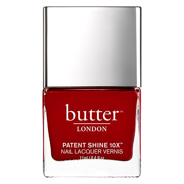 Her Majesty's Red Patent Shine 10X Nail Lacquer