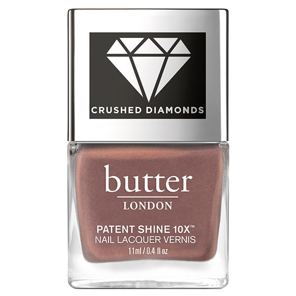 Rock Crushed Diamonds Patent Shine 10X™ Nail Lacquer