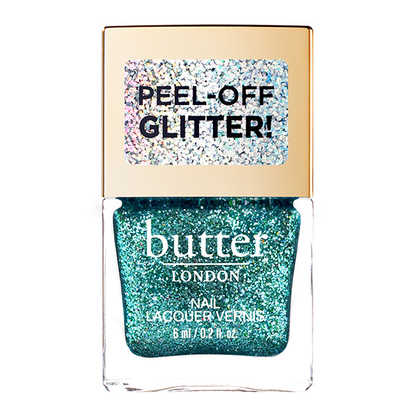 Aquatic Glazen™ Peel-Off Glitter Mini Nail Lacquer