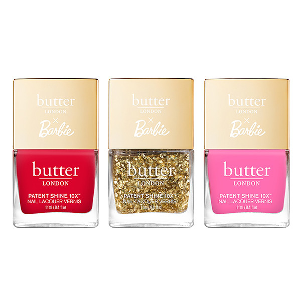 butter LONDON x Barbie™ Imaginative Nail Trio
