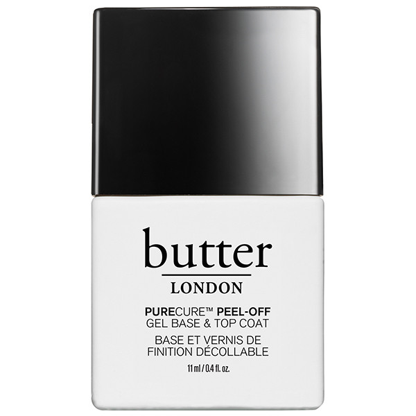 PURECURE™ Peel-Off Gel Base & Top Coat