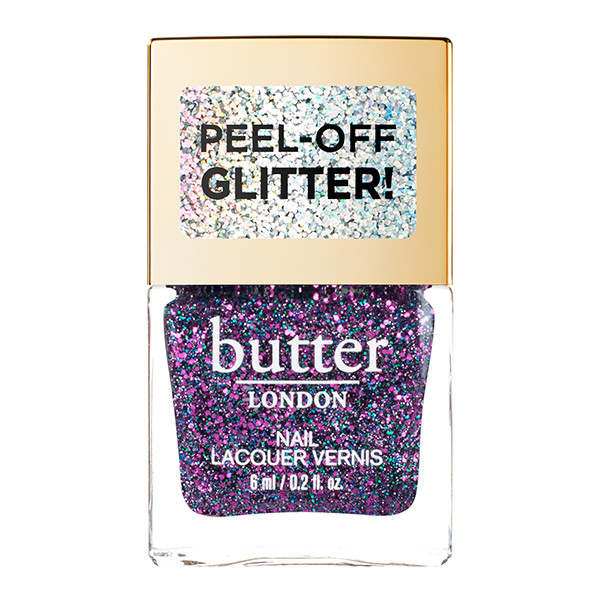 Galaxy Glazen™ Peel-Off Glitter Mini Nail Lacquer