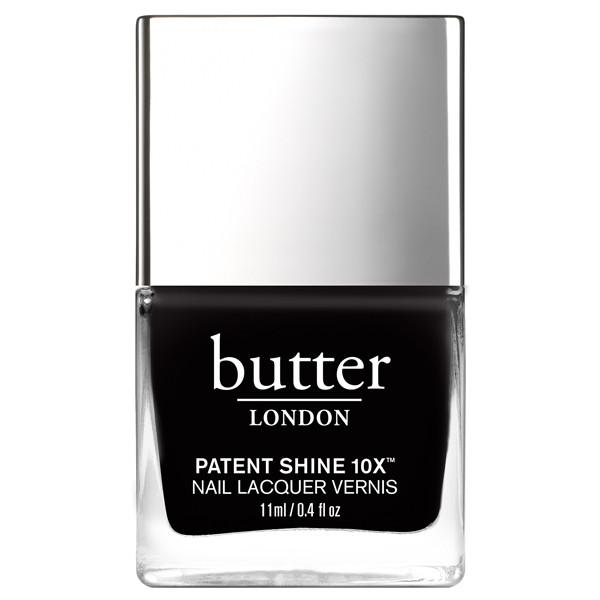 Union Jack Black Patent Shine 10X Nail Lacquer