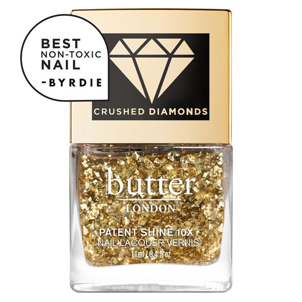 24K Crushed Diamonds Patent Shine 10X™ Nail Lacquer