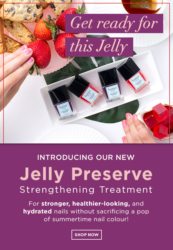 NEW Jelly Preserve strengthening treatment